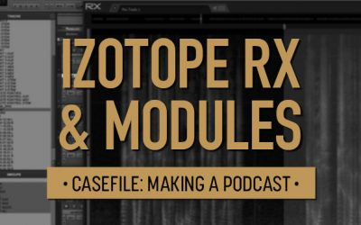 Casefile: Making a Podcast | iZotope RX & Modules 05