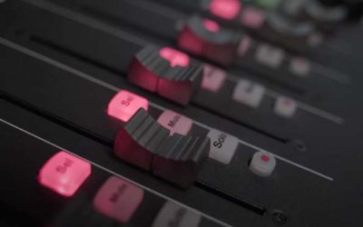 Icon M+ Platform Control Surface for Podcast Production